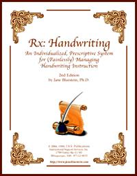 Rx: Handwriting by Dr. Jane Bluestein