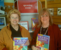 Hudson Perigo, editor, and Jane Bluestein, author with The Win-Win Classroom