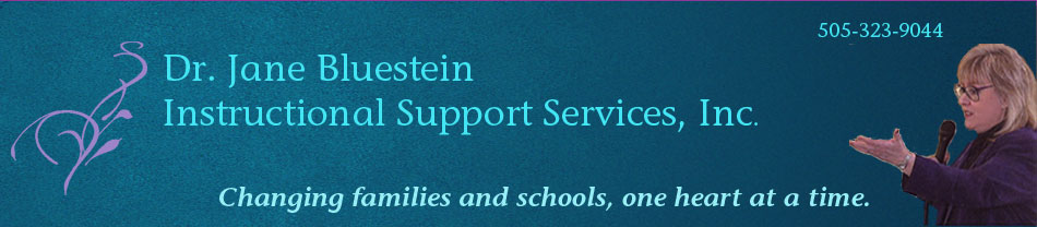 Dr. Jane Bluestein's resources for teachers, parents, counselors, and youth workers