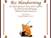 Rx: Handwriting by Dr. Jane Bluestein