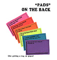 """Pads"" on the Back- bonus with book order"