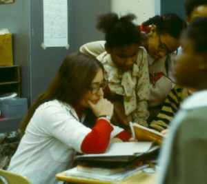 Why I Teach, Jane Bluestein and students, mid-1970s, Pittsburgh, PA