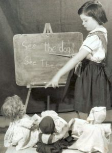 wanting to be a teacher from an early age